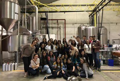 Visita a la planta de producción de Antigua Cerveza