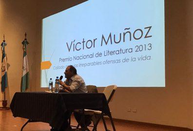 Conversatorio con Victor Muñoz