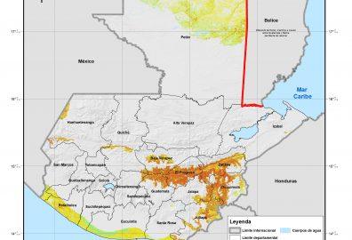 Crean mapas para áreas sensibles en Guatemala